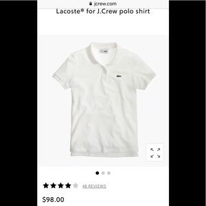 lacoste for J Crew